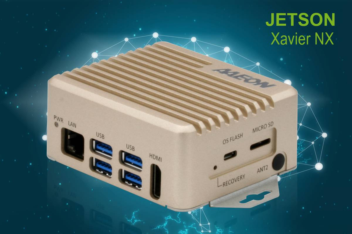 NVIDIA Jetson Xavier NX, Go to AAEON.AI for more details