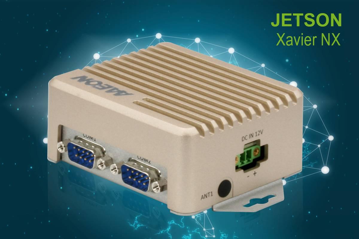 BOX PC with NVIDIA Jetson Xavier NX. www.aaeon.ai
