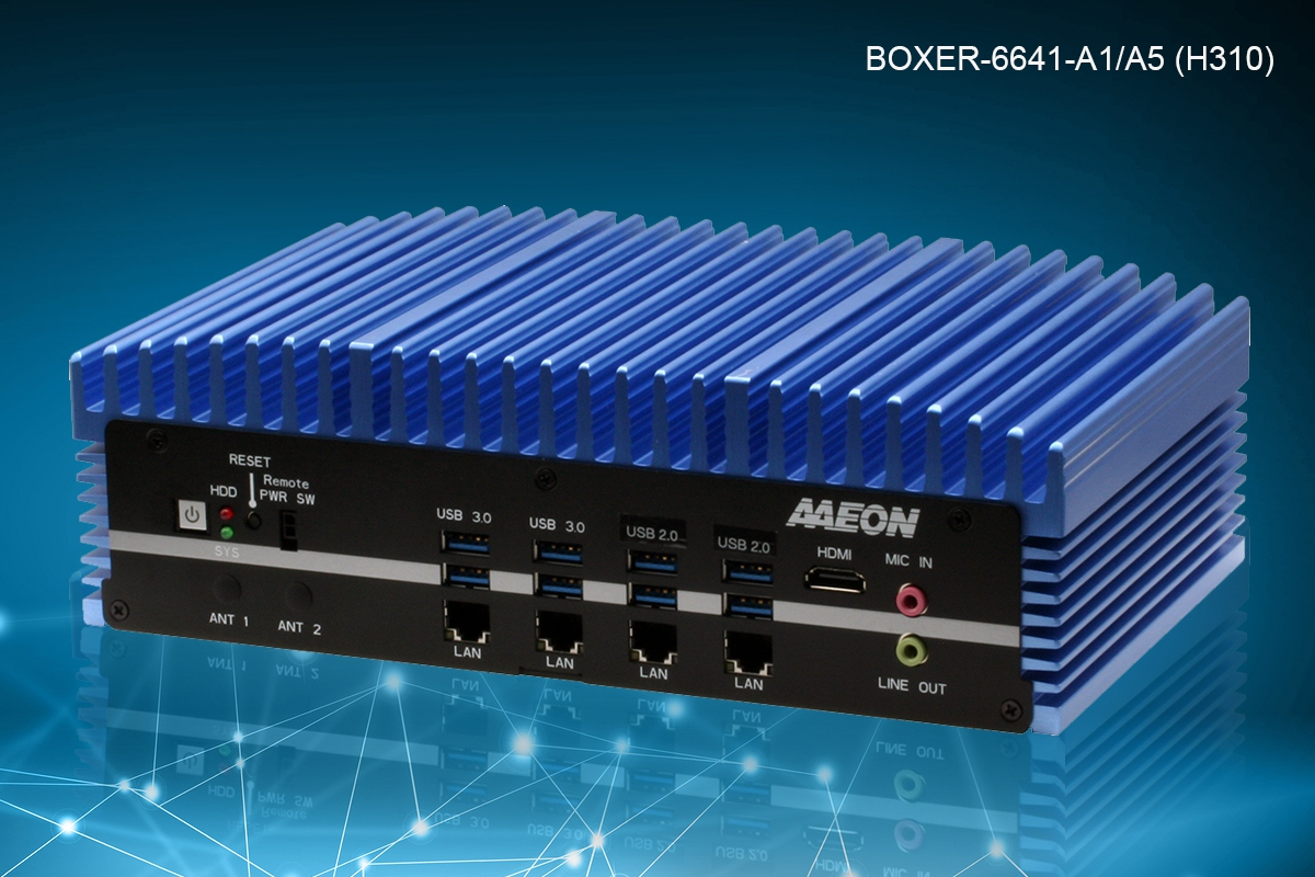 BIXER-6641 | Fanless Embedded Box PC with Socket Type 8th Genera