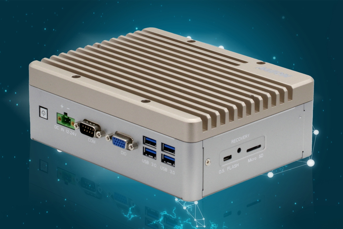 The BOXER-8223AI is powered by the NVIDIA Jetson NANO